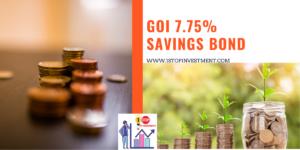 RBI Savings Bonds – offers 7.75% in low-rate regime !