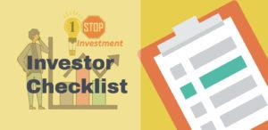 Efficient Investor Checklist